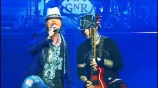 Guns N' Roses Dj Ashba All solos in Las Vegas Part 2