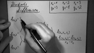 Newtoninterpolation , Teil 1