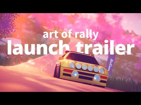 Игра Art of Rally стала доступна в Game Pass сразу после релиза