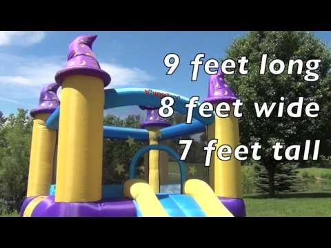 Bounce House - Wizard Magic Bouncer
