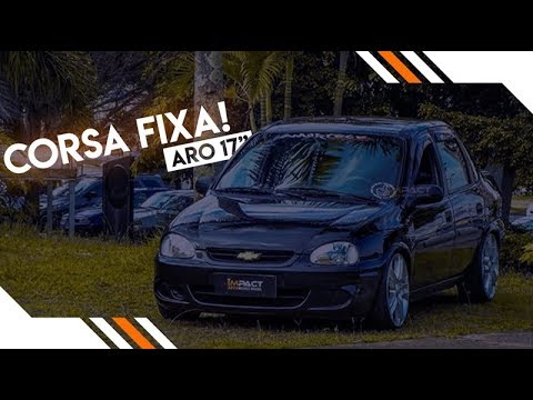 Impact-Movies Brasil Corsa Sedan + 185/35/R17 + Suspensão Rosca