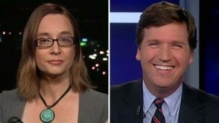 Tucker Carlson tries to get professor to explain her approach to students hysterical over Hillary Clinton's loss to Trump in the election, define 'safe spaces' and ...