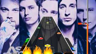 Guitar Flash White Line Fever - Asking Alexandria 100% Expert 49,511
