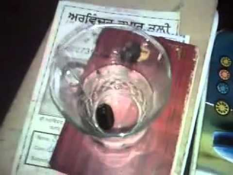 Nagmani Test In Water Giving Bubbles
