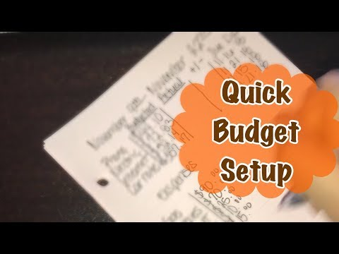 easy-budget-set-up-in-less-then-10-mins|-bi-weekly-pay