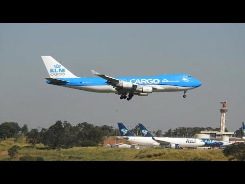 POUSO DE EMERGÊNCIA - BOEING 747-400F EM CAMPINAS VIRACOPOS 01/06/2020