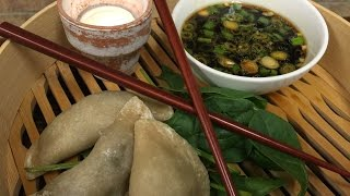 Callicoon Kitchen Steamed Vegetable Dumplings With Soy Ginger Dipping Sauce
