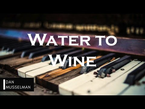 WATER TO WINE | Hillsong United. Instrumental Piano Cover.