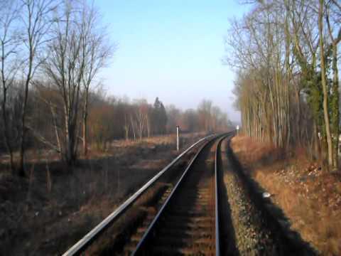 Führerstandsmitfahrt S-Bahn Berlin Fredersdorf - Birkenstein