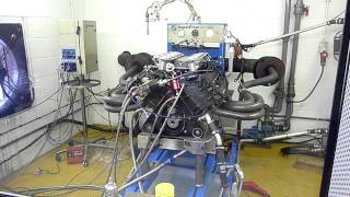 Cosworth DFV Short Stroke Dyno test, 527BHP