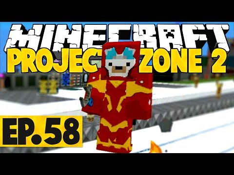 Minecraft Project Ozone 2 Titan Mode - FLUX-INFUSED JETPATE! #58 [Modded Questing Skyblock]