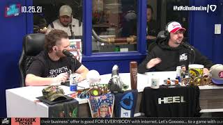 The Pat McAfee Show   Monday October 25th, 2021