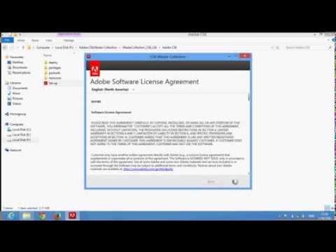 การติดตั้งโปรแกรม Adobe flash cs6