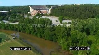 Clemson University - StreamWerx Aerial Stock Footage