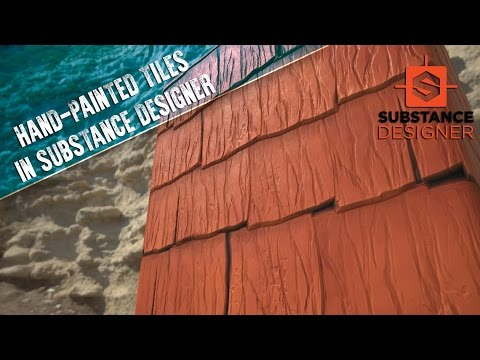 """Creating """"Hand-Painted"""" Textures in Substance Designer"""