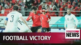 South Korea beats Uruguay 2-1 in international friendly match in Seoul