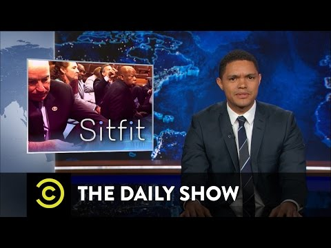 House Democrats Stage a Sit-In: The Daily Show