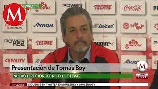 Tomás Boy es nuevo director técnico de Chivas