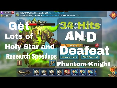 Lords Mobile Phantom Knight And Monster Hunting Guide In Hindi