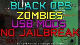 Black Ops 1 Zombies USB Mods | God Mode, No Clip, Unlimited Ammo, + MORE with DOWNLOAD!