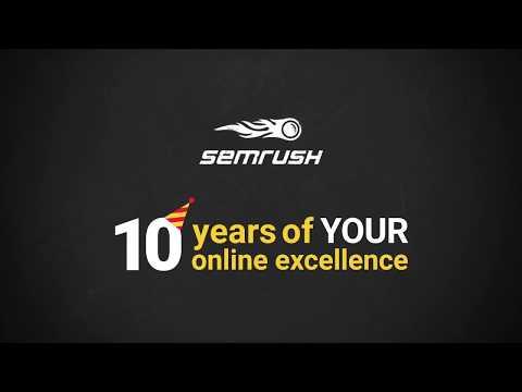 SEMrush 10 years: Product Evolution