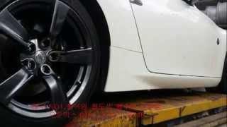 닛산 370Z 18인치 고스트크롬 색상 휠복원