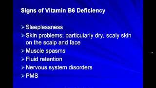 Fertility and the Importance of Vitamin B6.mp4