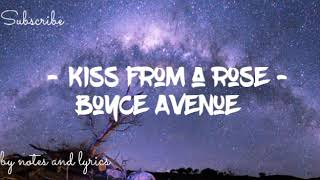 Seal (Boyce Avenue Cover) - Kiss from a rose (Lyrics)