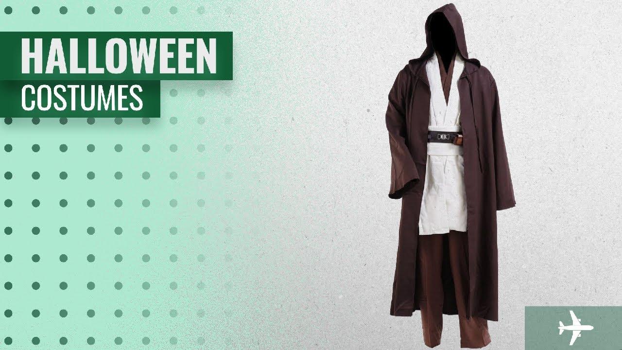 cosplaysky men halloween costumes 2018 cosplaysky star wars jedi robe costume obi wan kenobi