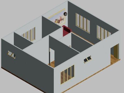 Học Autocad 2013 - Hướng dẫn triển khai bản vẽ Căn hộ từ 2D lên 3D