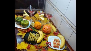 Хэллоуин.Украшение стола