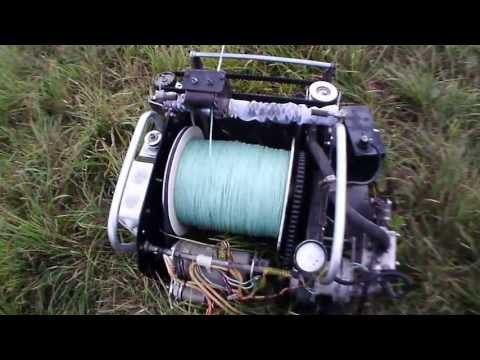 лебёдка размотка winch glider towing winch stacker for paraglider