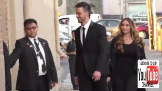 Kris Bryant arrives to Jimmy Kimmel Live in Hollywood