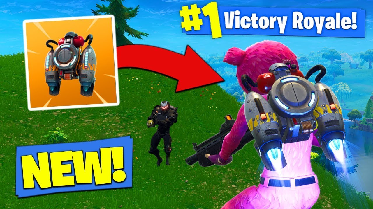 *NEW* JETPACK GAMEPLAY In Fortnite Battle Royale!