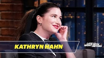Kathryn Hahn Lied About Renting an Adult Video