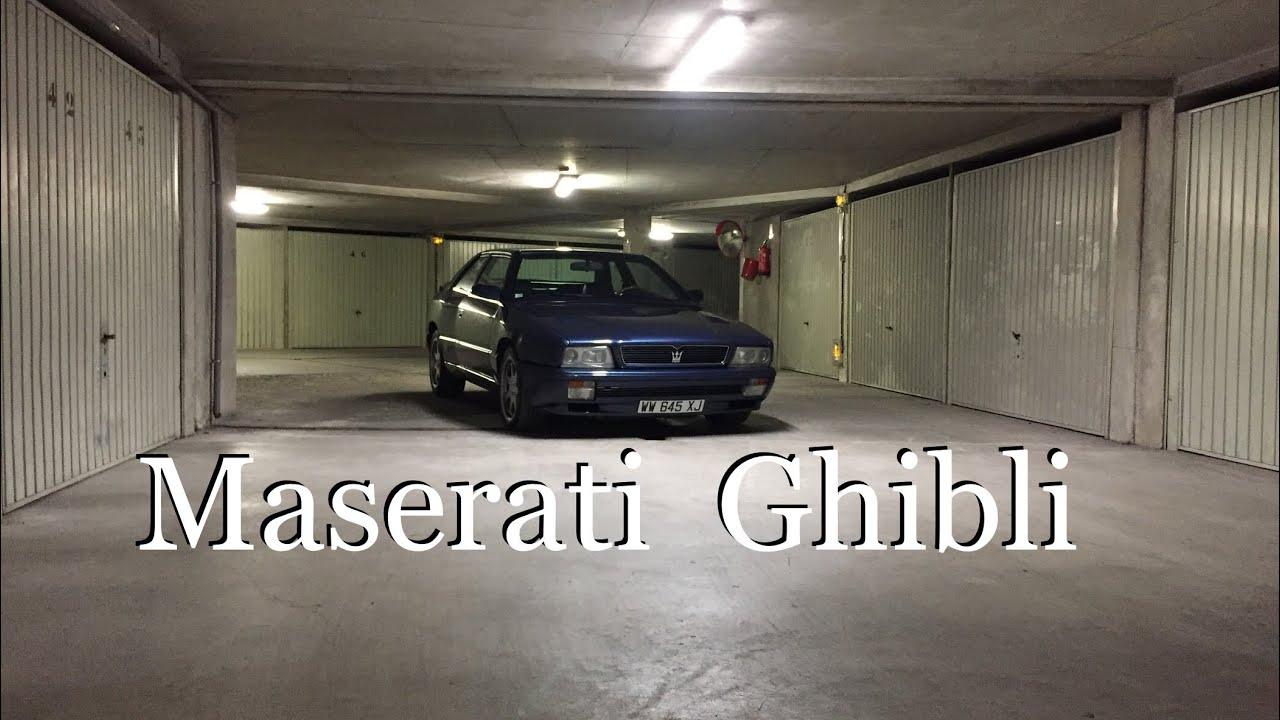 Maserati Ghibli 2 1994 v6 biturbo (English Spain subtitle ...