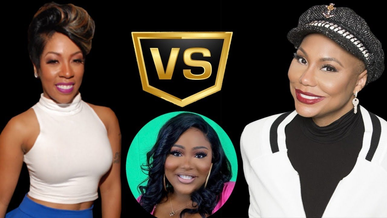 K.Michelle Beef With Tamar Braxton   The Rickey Smiley