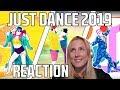 JUST DANCE 2019 TRAILERS REACTION! (Latino + Arabic edition!)
