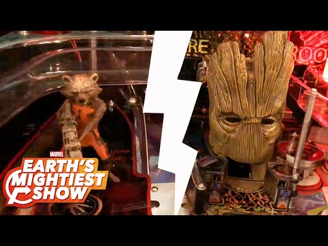BONUS: Inside the Guardians of the Galaxy Pinball Machine| Earth's Mightiest Show