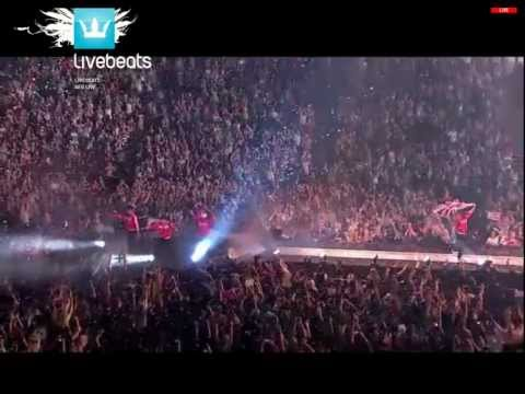 Hangin' Tough / Everybody (Backstreet's Back) Medley NKOTBSB tour - 2012-04-29 - London