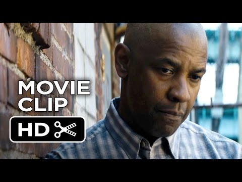 The Equalizer Movie CLIP - There Was A Fire (2014) - Denzel Washington Movie HD