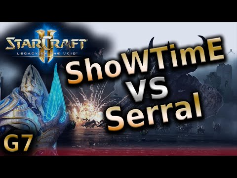 Starcraft 2 LotV - Serral vs ShoWTimE - ZvP G7 - NationWars 3