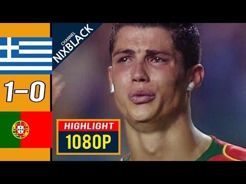 🔥 Греция - Португалия 1-0 - Обзор Матча Финал Чемпионата Европы 04/07/2004 HD 🔥