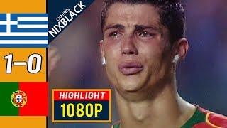 греция - Португалия 1-0 - Обзор Матча Финал Чемпионата Европы 04/07/2004 HD