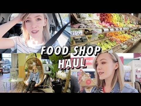 Food Shop Haul & Birthday Dinner | Moving Vlog 3
