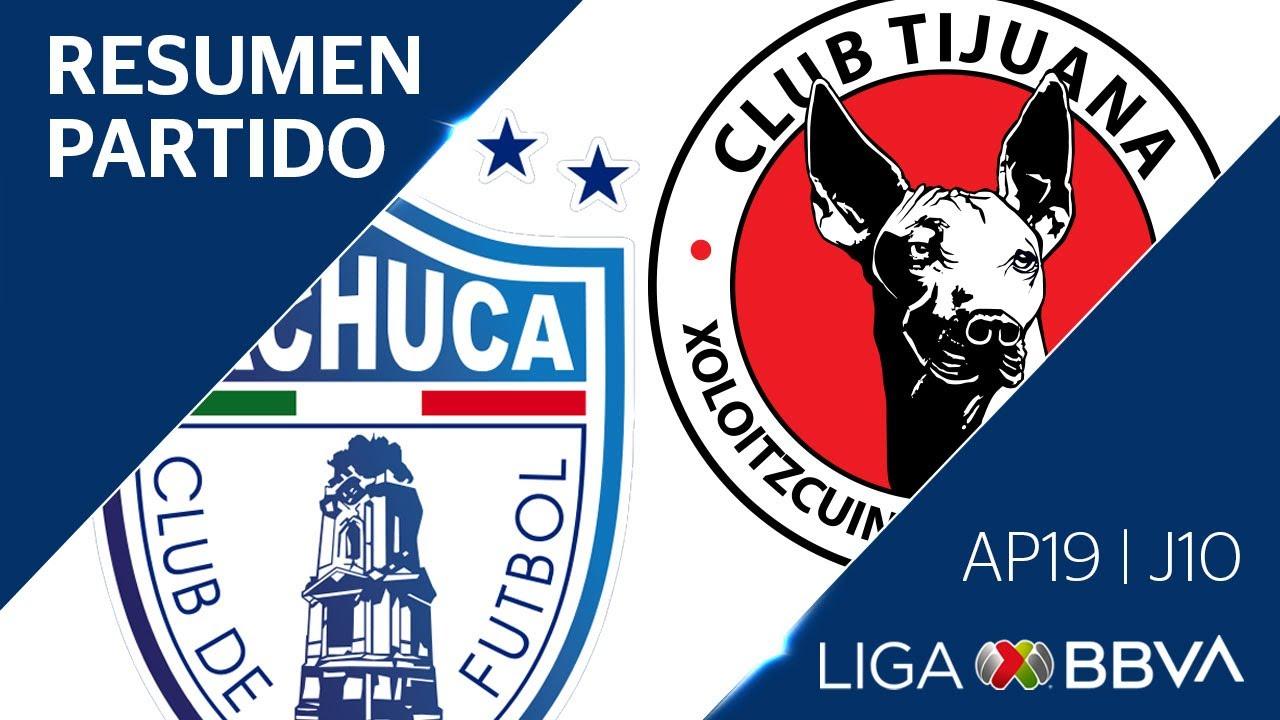 Resumen y Goles | Pachuca vs Tijuana | Jornada 10 - Apertura 2019 | Liga BBVA MX
