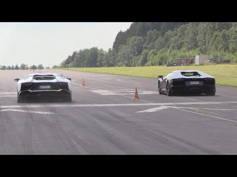 Lamborghini Aventador LP700-4 - Insane LOUD Drag Racing!