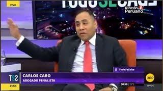 Entrevista a Carlos Caro - Todo Se Sabe RPP (06.09.17) Casación 92-2017