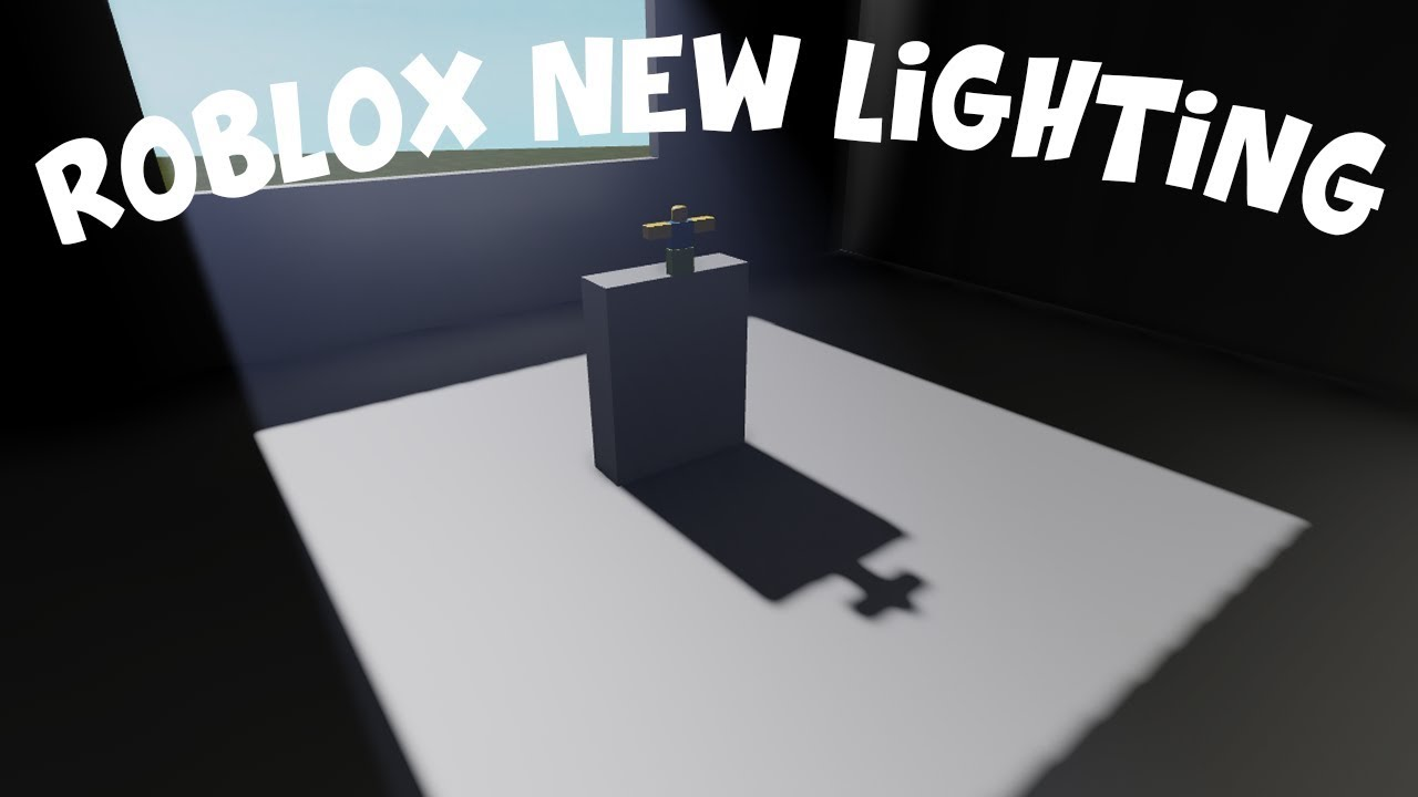 Roblox Studio How To Add The New Lighting To Your Game Youtube - how to add better lighting to a roblox game