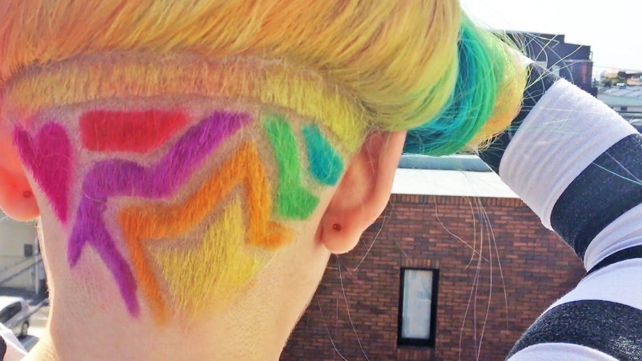 Rainbow Hair Harajuku Style Japan Kawaii Youtube